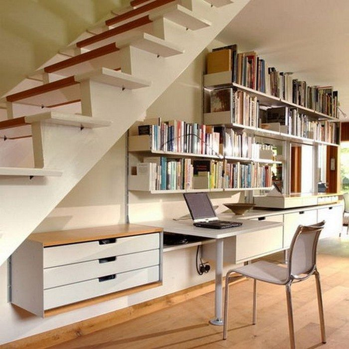 Under Stairs Home Office Ideas