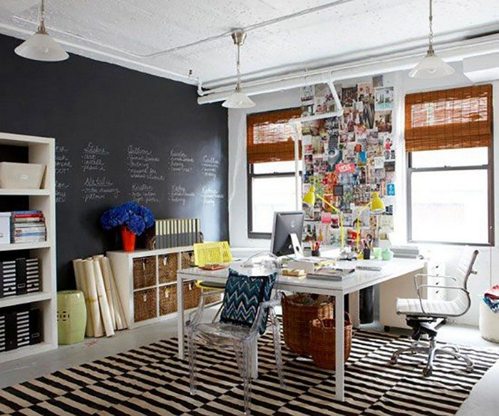 Creative Home Office Ideas: 24 Creative Workspaces For Two!