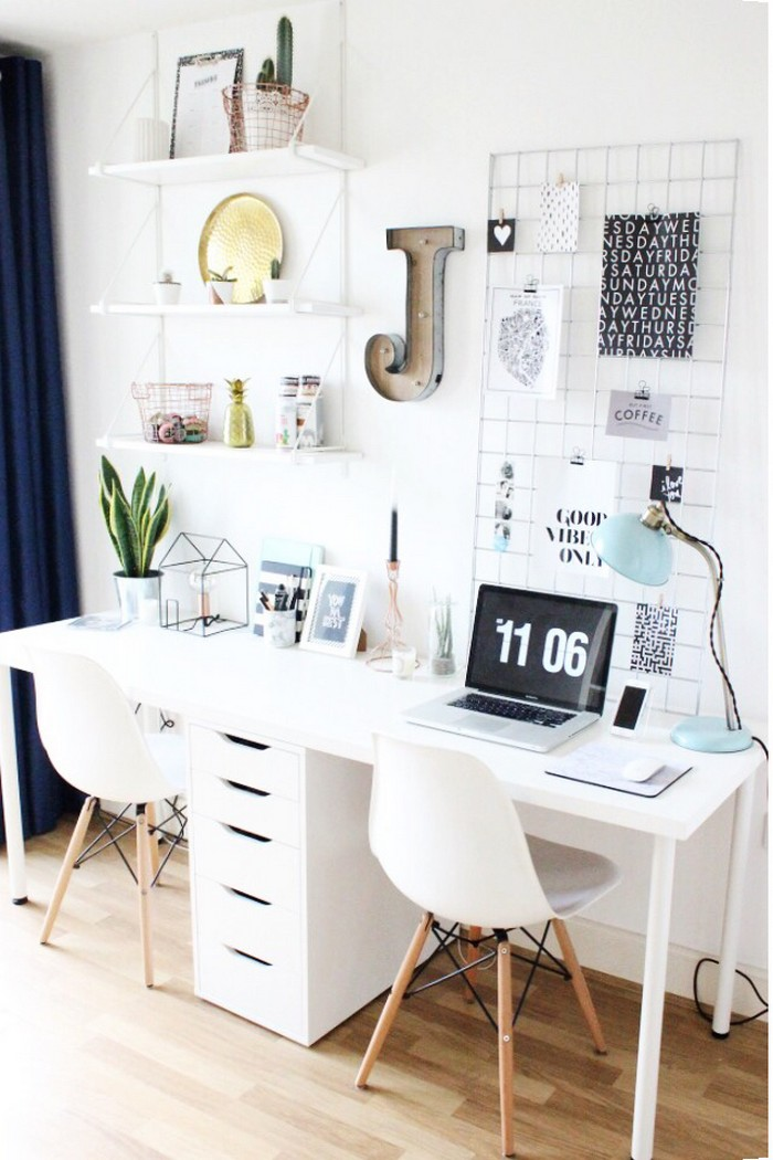 24 Creative Workspaces for Two! | The Home Office
