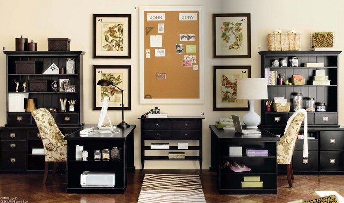 Home Office Ideas For Two