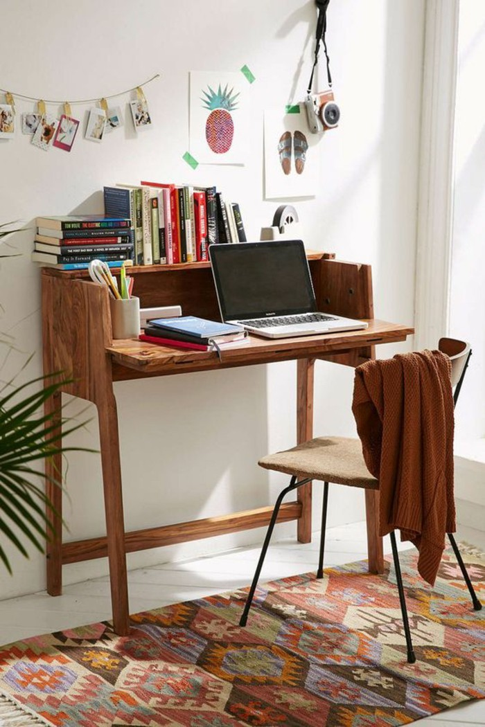 small home office desk ideas the home office. Black Bedroom Furniture Sets. Home Design Ideas