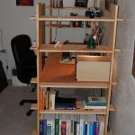 DIY Nomad Bookshelf Desk