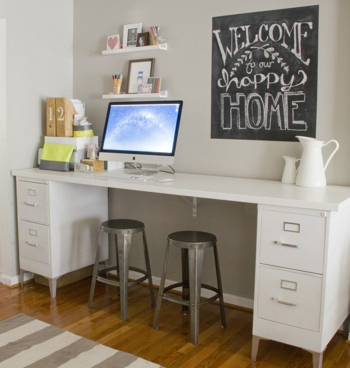 Easy Diy Desk Ideas: Easy-to-build Large Desk Ideas For Your Home Office!
