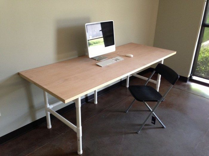 easy to build large desk ideas for your home office the home office