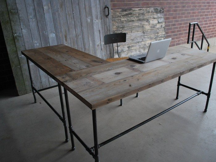 Easy to build Large Desk Ideas For Your Home Office The
