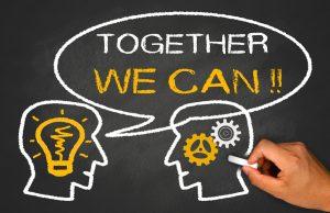 Start-up mantra - together we can