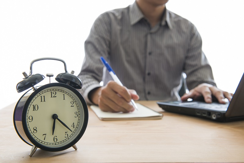 Set aside time that you'll dedicate to administrative and communications tasks.