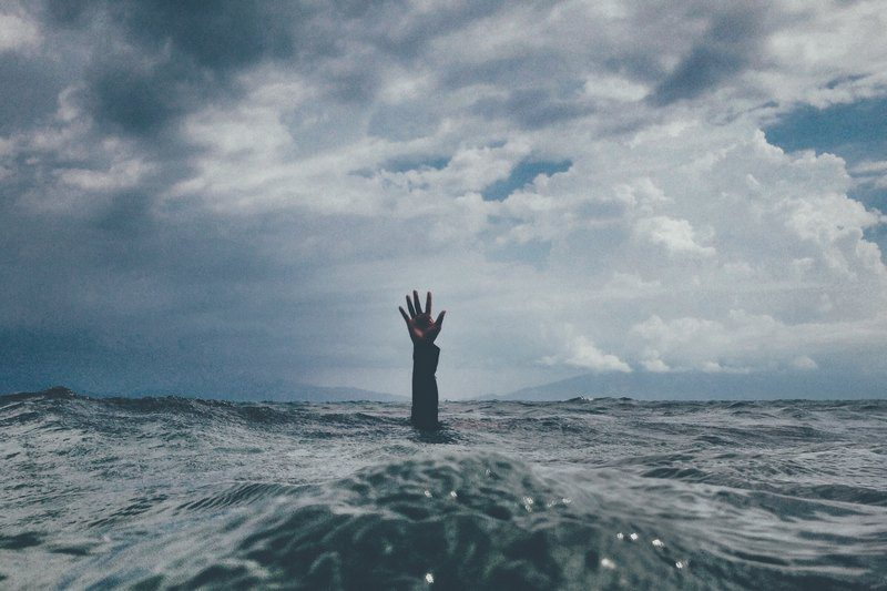 Do you feel like you're drowning in work? Call for help!